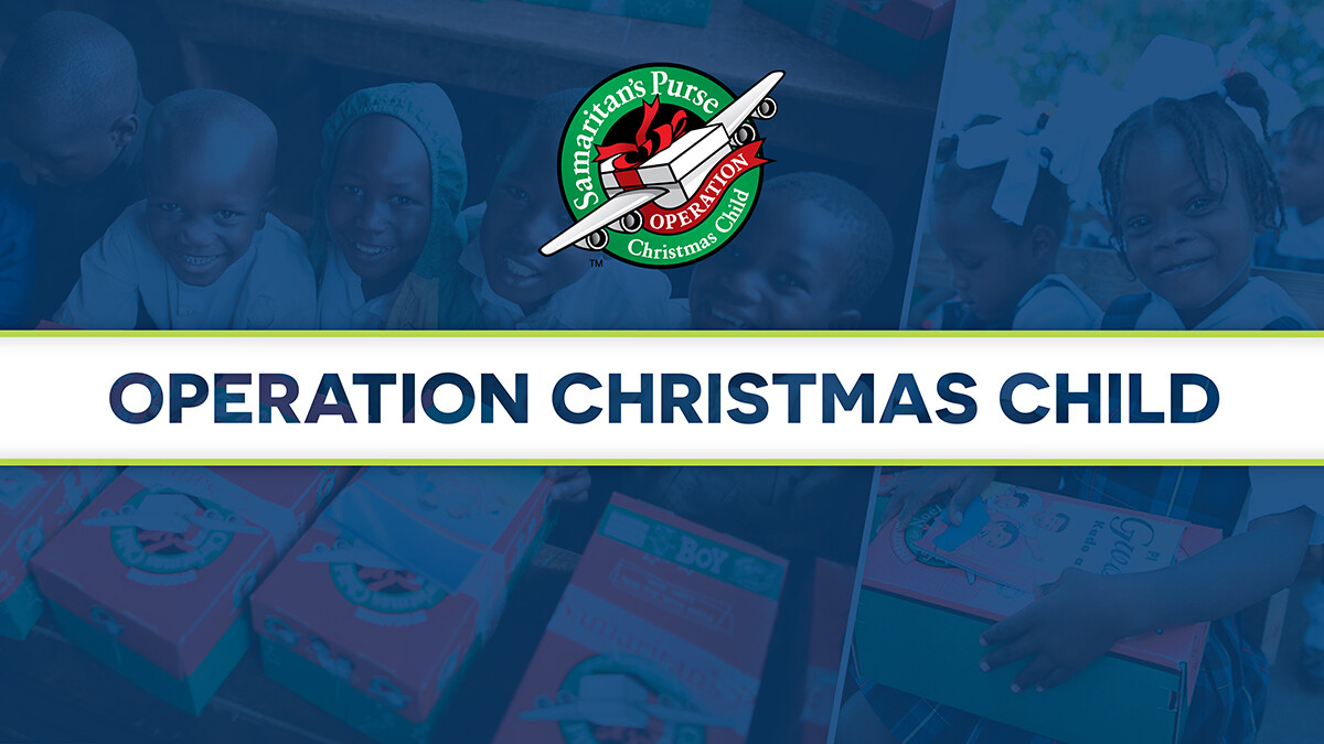 Operation Christmas Child: National Collection Week