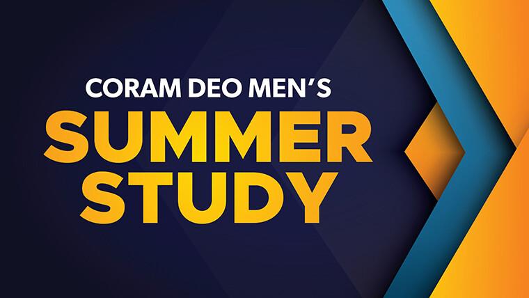 Men's Ministry Summer Study - Saturday