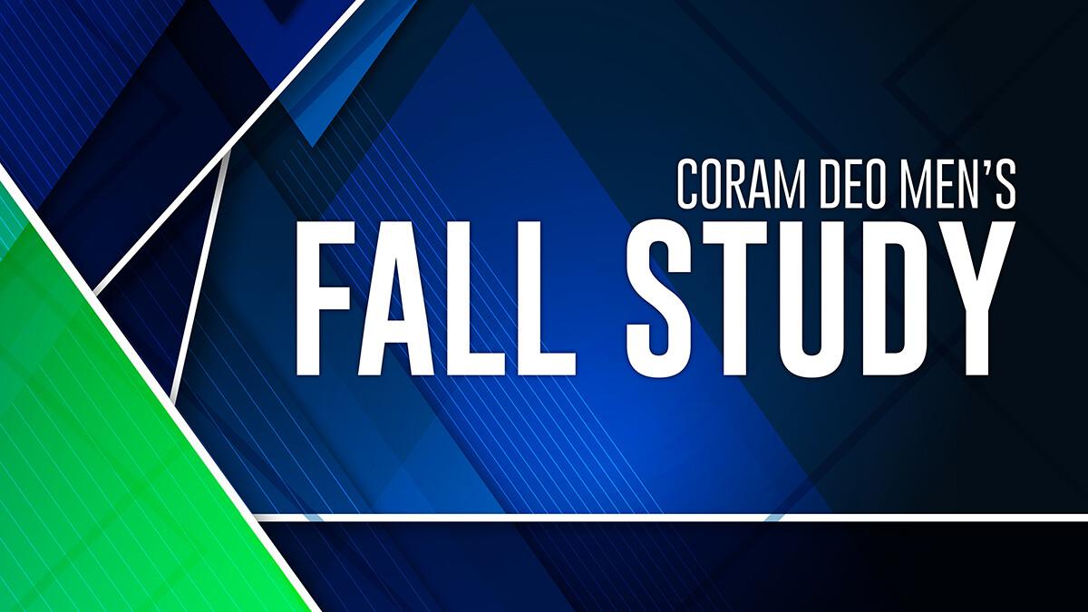 Men's Sunday 2020 Fall Bible Study