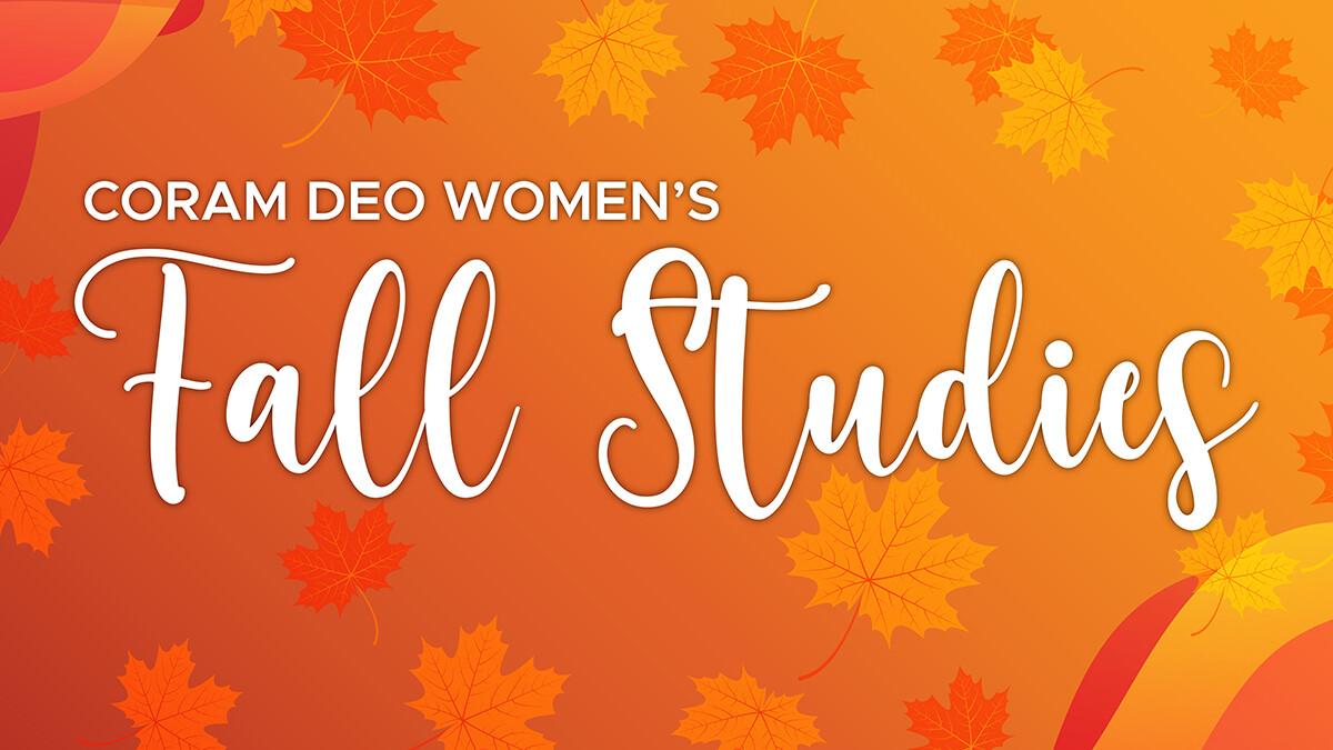 Women's Fall Bible Studies 2020